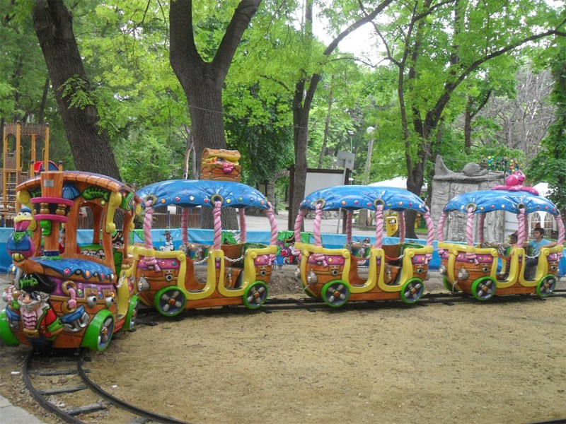 Пиратски влак  Детски кът Варна